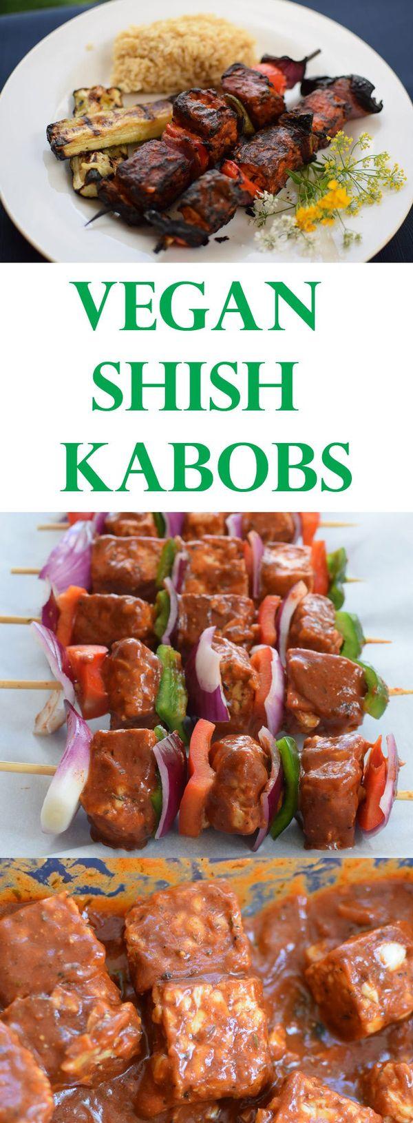 Vegan Shish Kabobs - Lebanese Shish Taouk