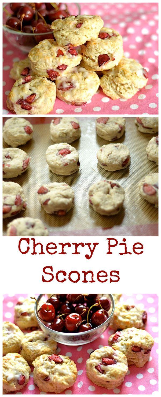 Cherry Pie Scones