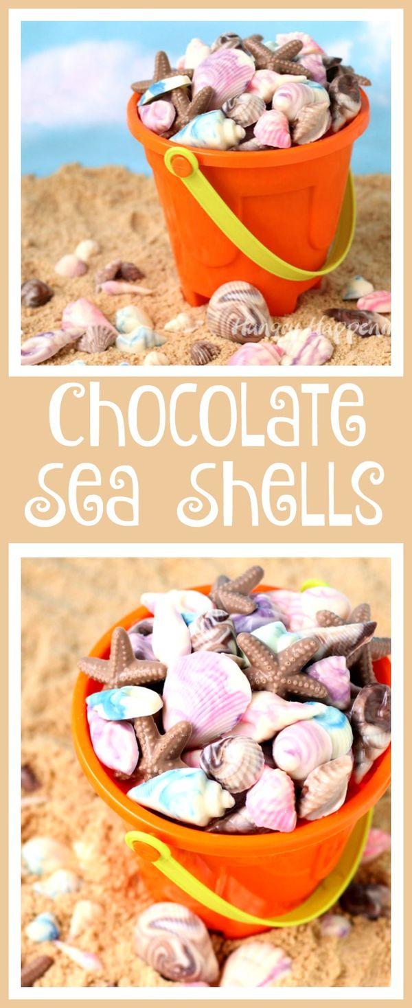 Chocolate Sea Shells