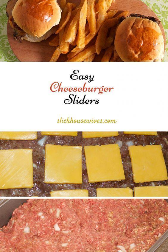 Easy Cheeseburger Sliders