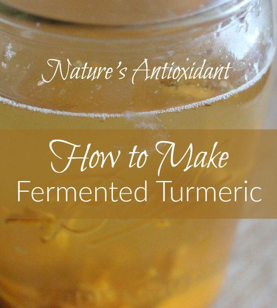 How to Make a Turmeric/Ginger Bug