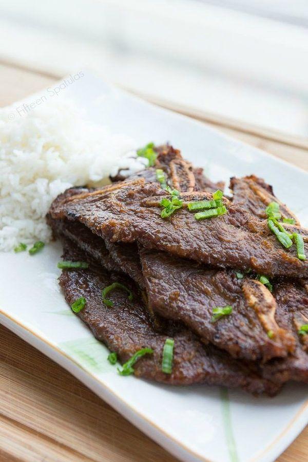 Korean Kalbi Beef