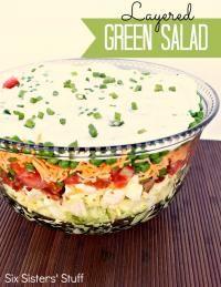 Layered Green Salad