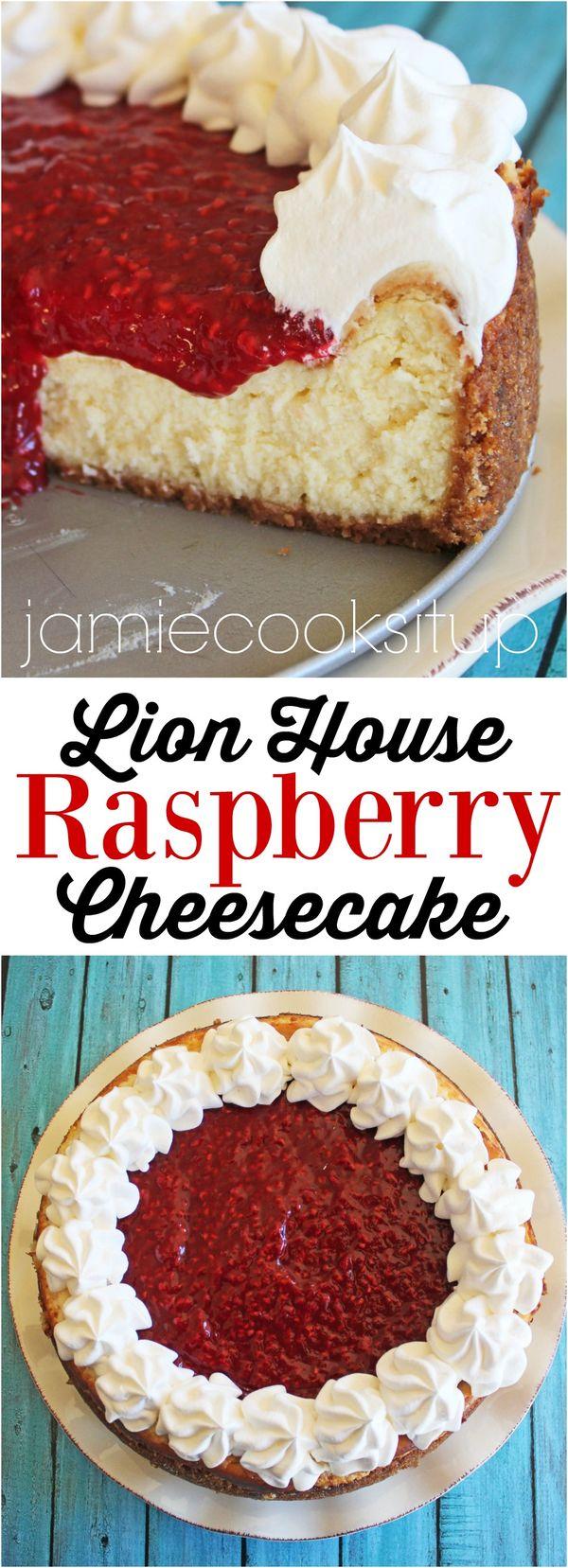 Lion House Raspberry Cheesecake (Renewed