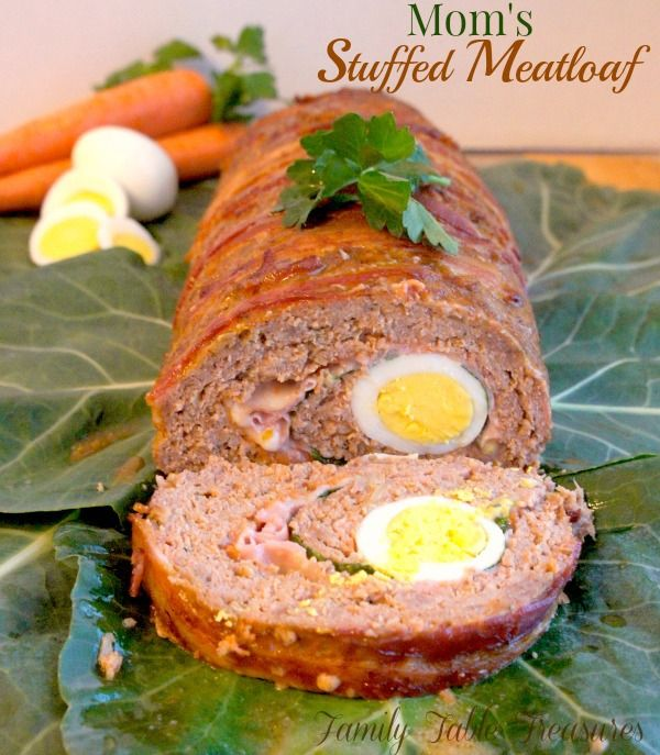 Mom's (Stuffed Meatloaf