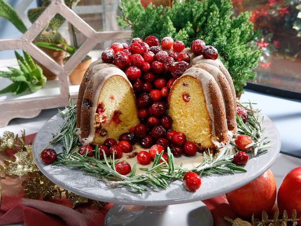 Orange-Cranberry Bundt Cake