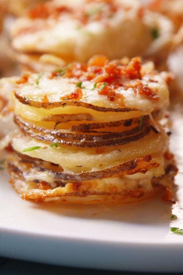 Potato Gratin Stacks