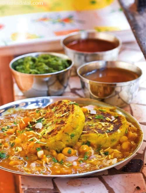 Ragda Patties ( Gujarati Recipe