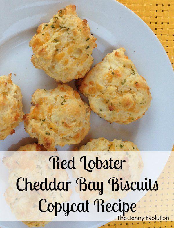 Red Lobster Cheddar Bay Biscuits Copycat