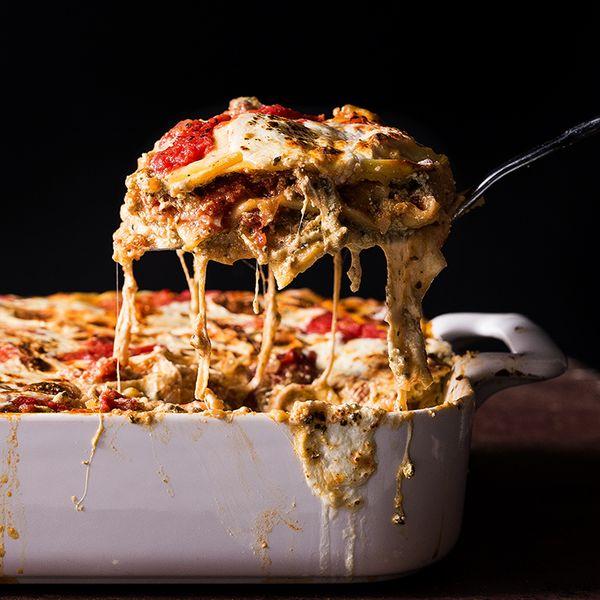 Sausage and Ricotta Lasagna