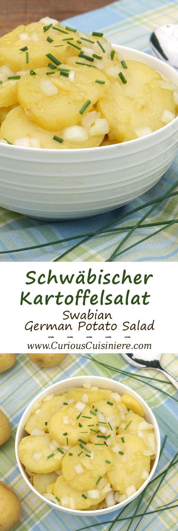 Schwabischer Kartoffelsalat (Swabian Potato Salad