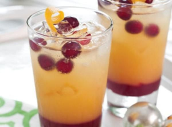Sparkling Holiday Mimosa