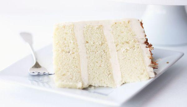 Super Moist Coconut Cake