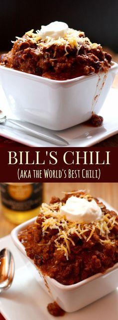 Bill's Chili
