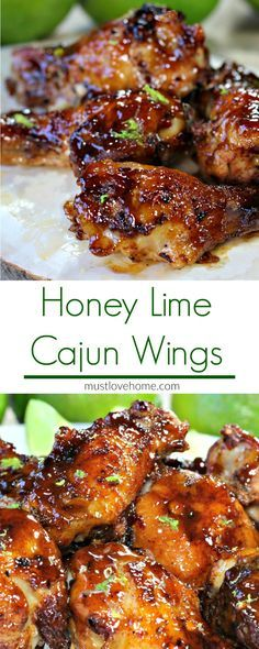 Cajun Honey Lime Chicken Wings