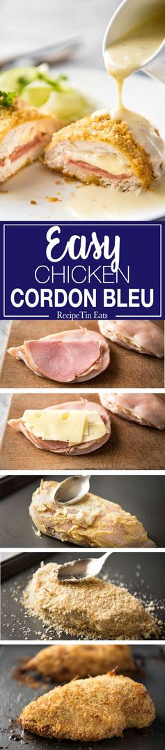 Chicken Cordon Bleu (Easy Fancy!