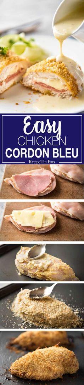 Chicken Cordon Bleu (Easy Fancy!