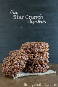 Clean Version Star Crunch Cookies (Only 6 Ingredients