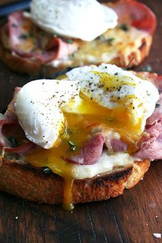 Croque Monsieur with Poached Eggs (Croque Madame
