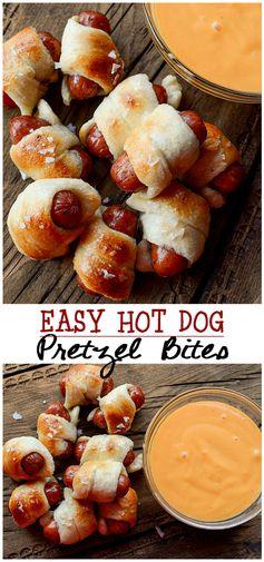 Easy Pretzel Bites