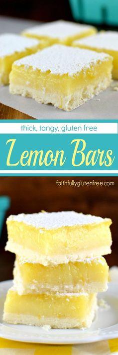Gluten Free Lemon Bars (the Way Lemon Bars Should Be