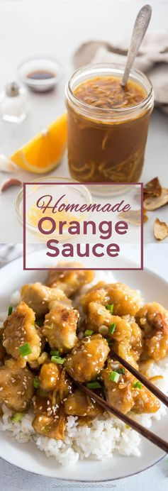 Homemade Orange Chicken Sauce