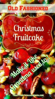 It's Time To Make A Christmas Fruitcake