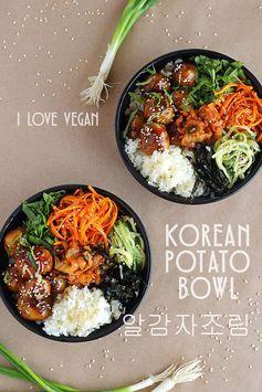 Korean Potato Bowl (Al Gamja Jorim