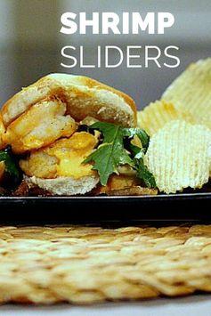 Shrimp Sliders with Sriracha Mayonnaise