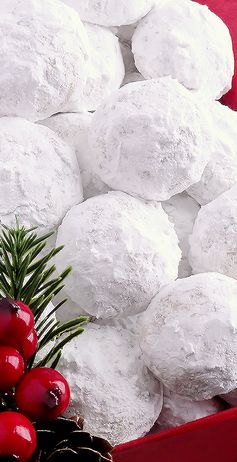 Snowball Christmas Cookies (best ever