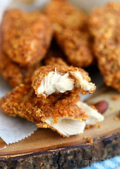 Sriracha Almond Crusted Chicken Strips