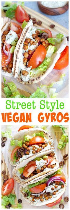 Street Style Vegan Gyros