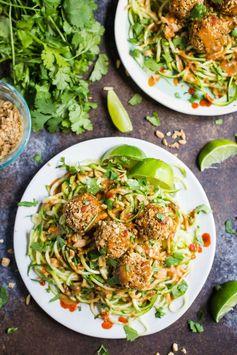 Thai Quinoa Meatballs (V + GF