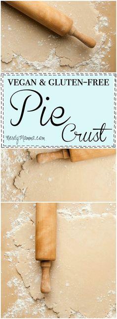 Vegan & Gluten-Free Pie Crust