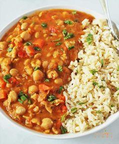 Chickpea Stew (Vegan, Gluten-free