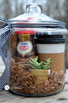 Coffee Gift Baskets | coffee and crafting party #SipIndulgence