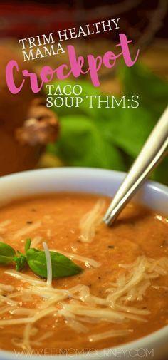 Crockpot Taco Soup (THM:S