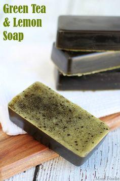 Green Tea and Lemon Soap