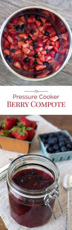 Pressure Cooker Berry Compote