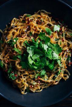 Raw Pad Thai w/ Kelp Noodles