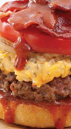 Bacon-Barbecue Burgers