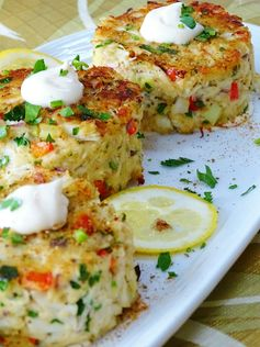 Baked Crab Cakes with Meyer Lemon Aioli