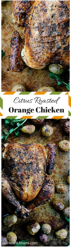 Chinese Citrus Roasted Orange Chicken