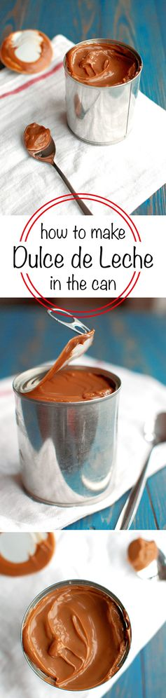 Dulce de Leche Made in the Can
