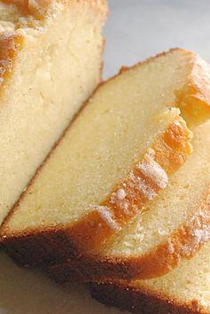 Golden Vanilla Pound Cake