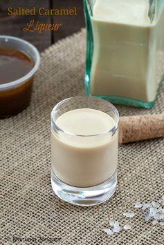 Home-made Salted Caramel Liqueur