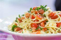 Katherine Heigl's Brie Tomato Pasta