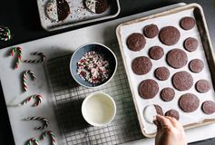 Peppermint Bark Cookie