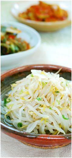 Sukju Namul (Mung Bean Sprouts
