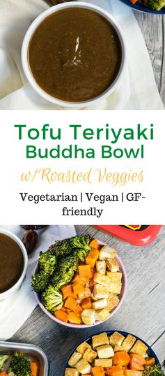 Tofu Teriyaki Buddha Bowl with Roasted Veggies
